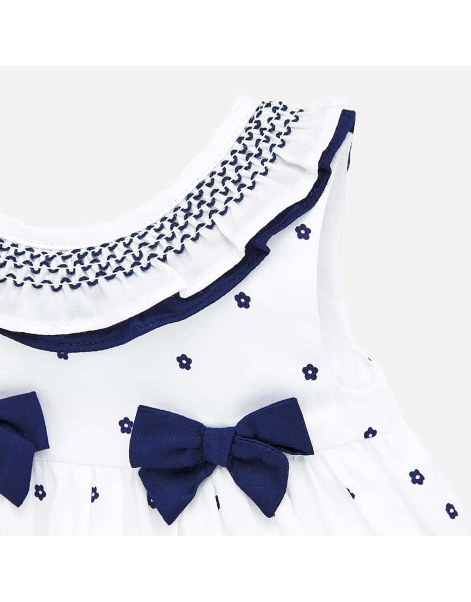 Mayoral Nautical Dress with Smock