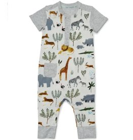 Loulou Lollipop Unisex Romper - Safari Jungle