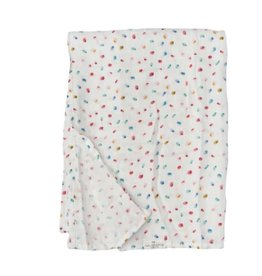 Loulou Lollipop Butterfly Dots Muslin Swaddle