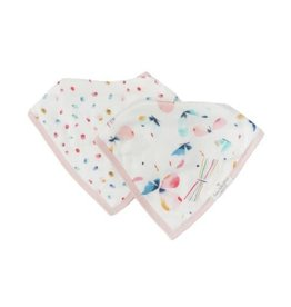 Loulou Lollipop Butterfly Bandana Bib Set