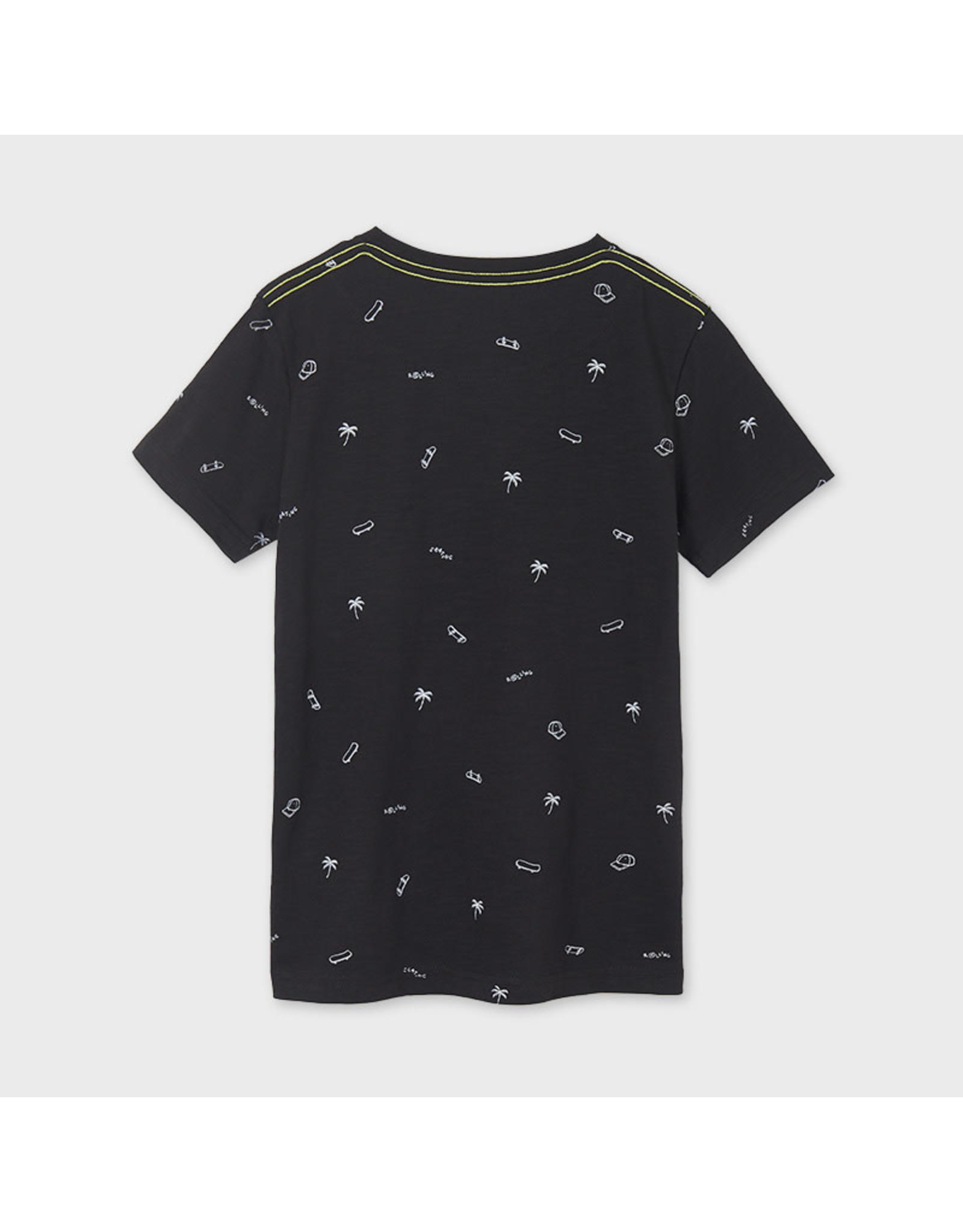 Mayoral Vynil Printed Short Sleeve T-Shirt
