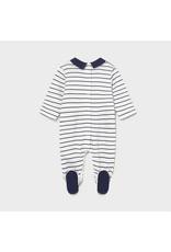 Mayoral striped long onesie