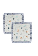 Loulou Lollipop Security Blanket - Born to Fly 2 Pack
