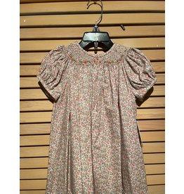 Casero Little Girls Flower Embroidered Dress