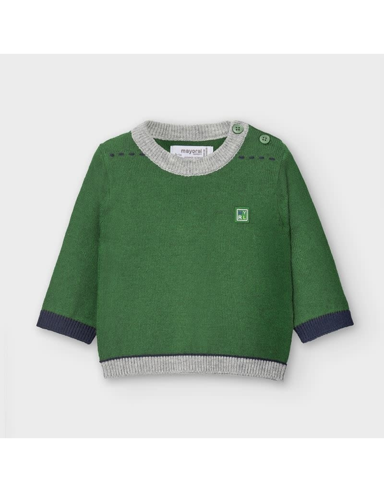 Mayoral Moss Green Sweater