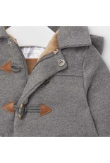 Mayoral Graphite Trenchcoat with Removable Hood
