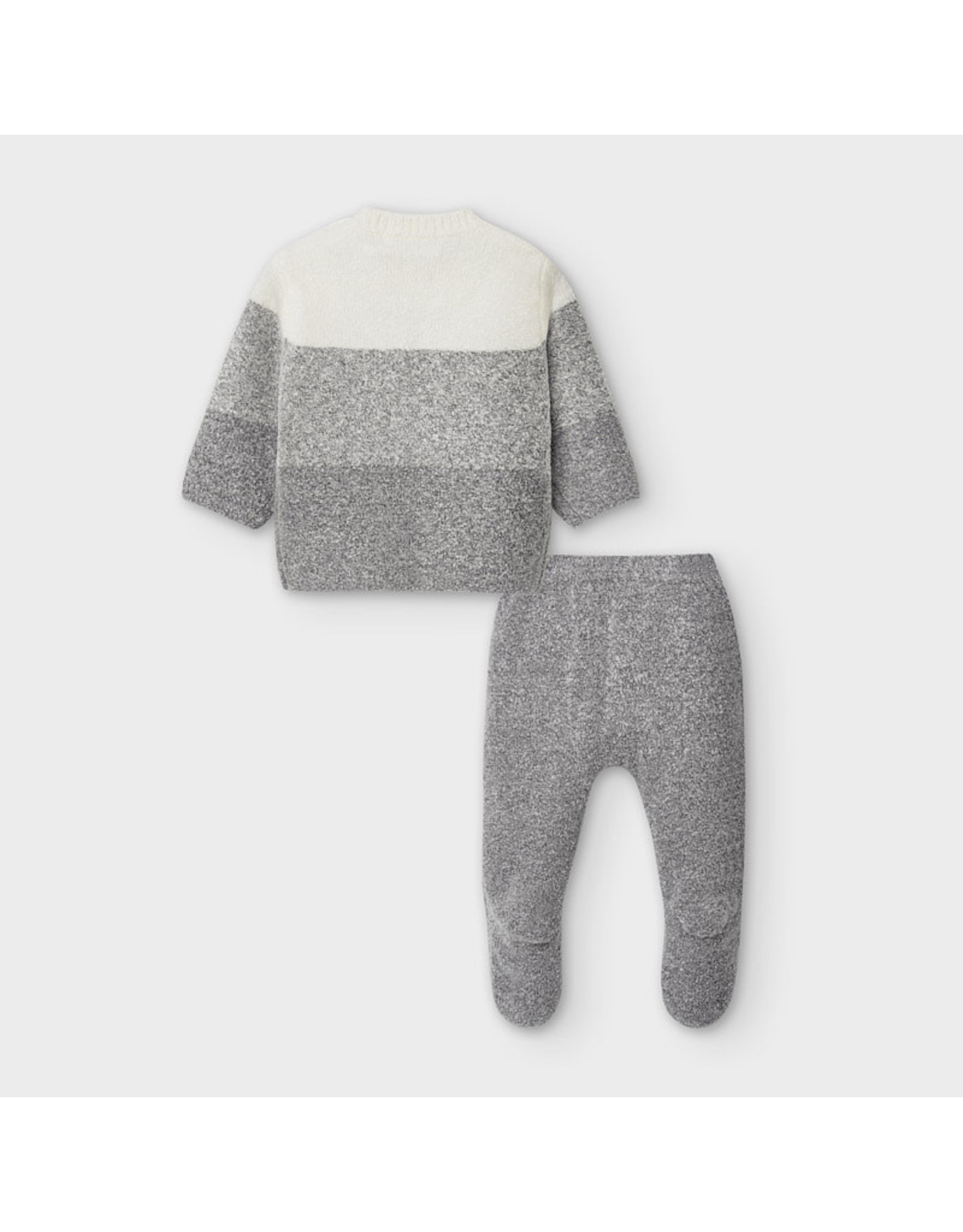 Mayoral Knit Pant/Sweater/Hat Set