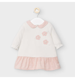 Mayoral Dress with Flower Accents