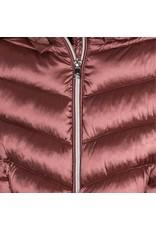 Mayoral Mauve Long Coat with Hood