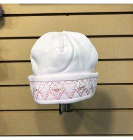 Kissy Kissy Ribbon Roses Preemie Hat