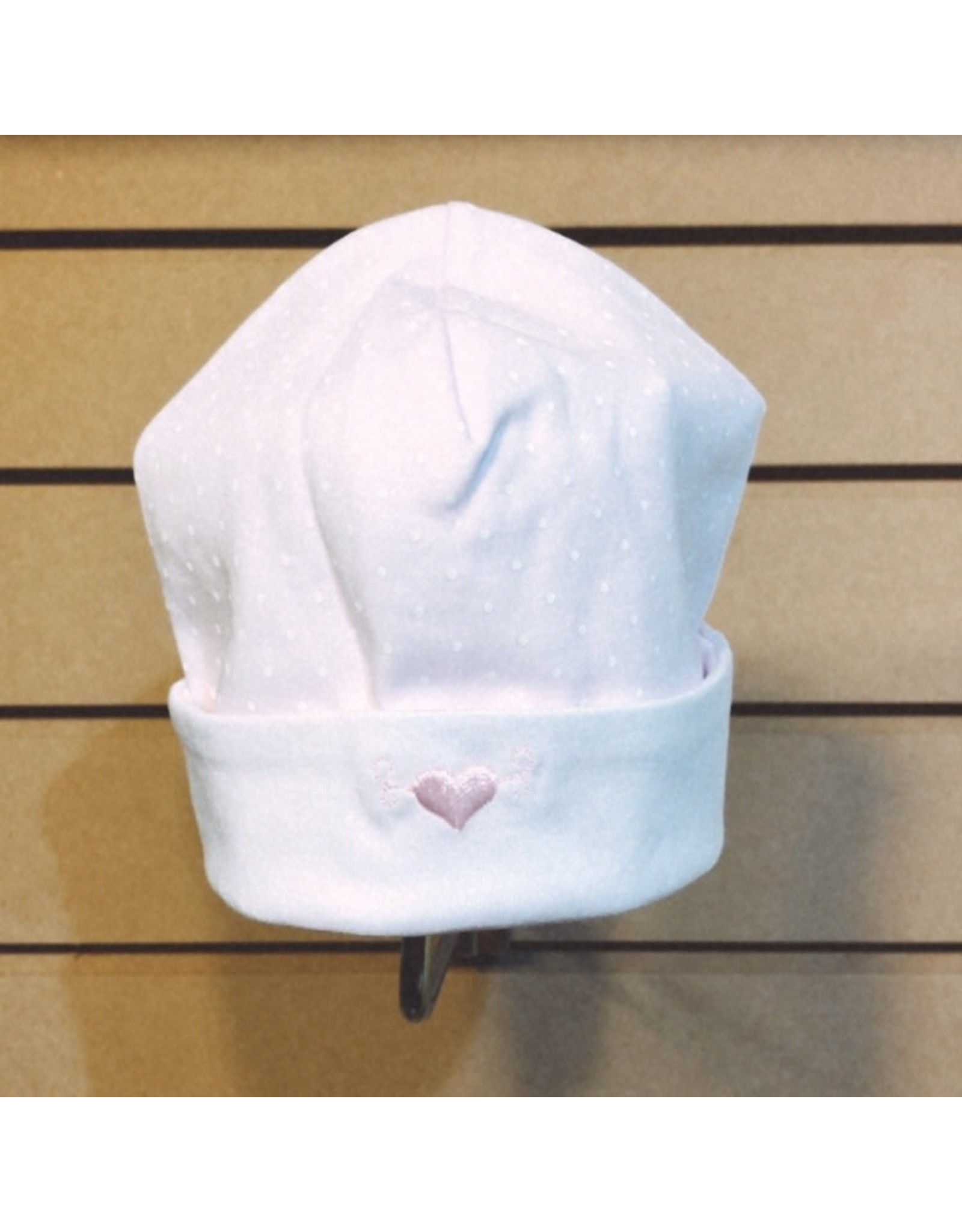 Kissy Kissy Pink Polka Dot Hat