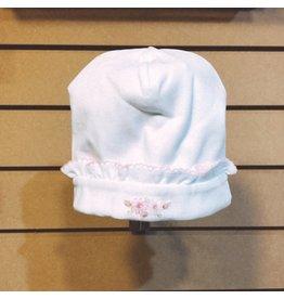 Kissy Kissy White Polka Dot Hat