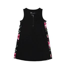 Deux Par Deux Jersey Dress with Elastic