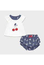 Mayoral Shorts set with Cherries