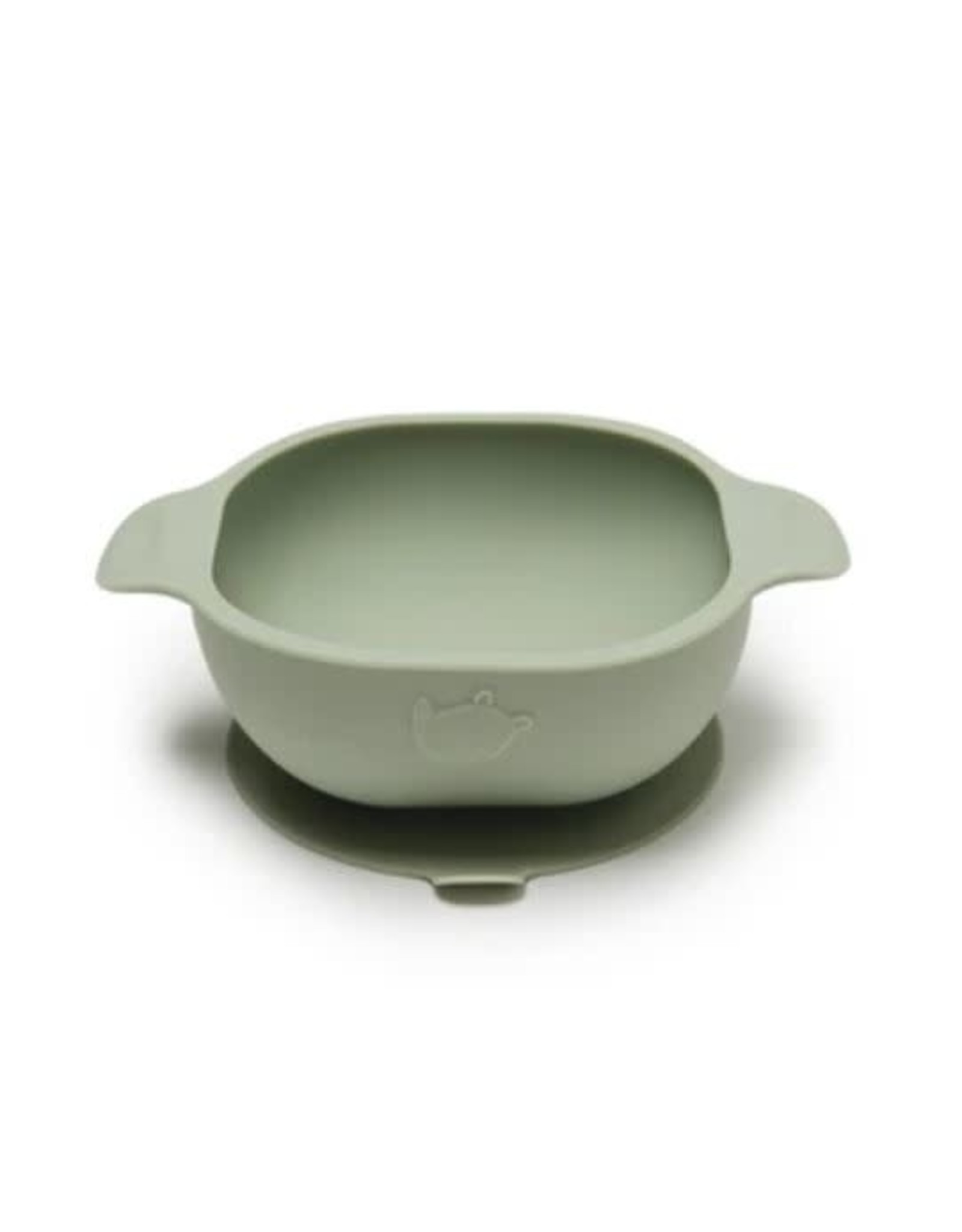 Loulou Lollipop Born to be Wild Silicone Snack Bowl - Sage