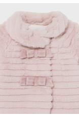 Mayoral Wild Rose Fur Coat