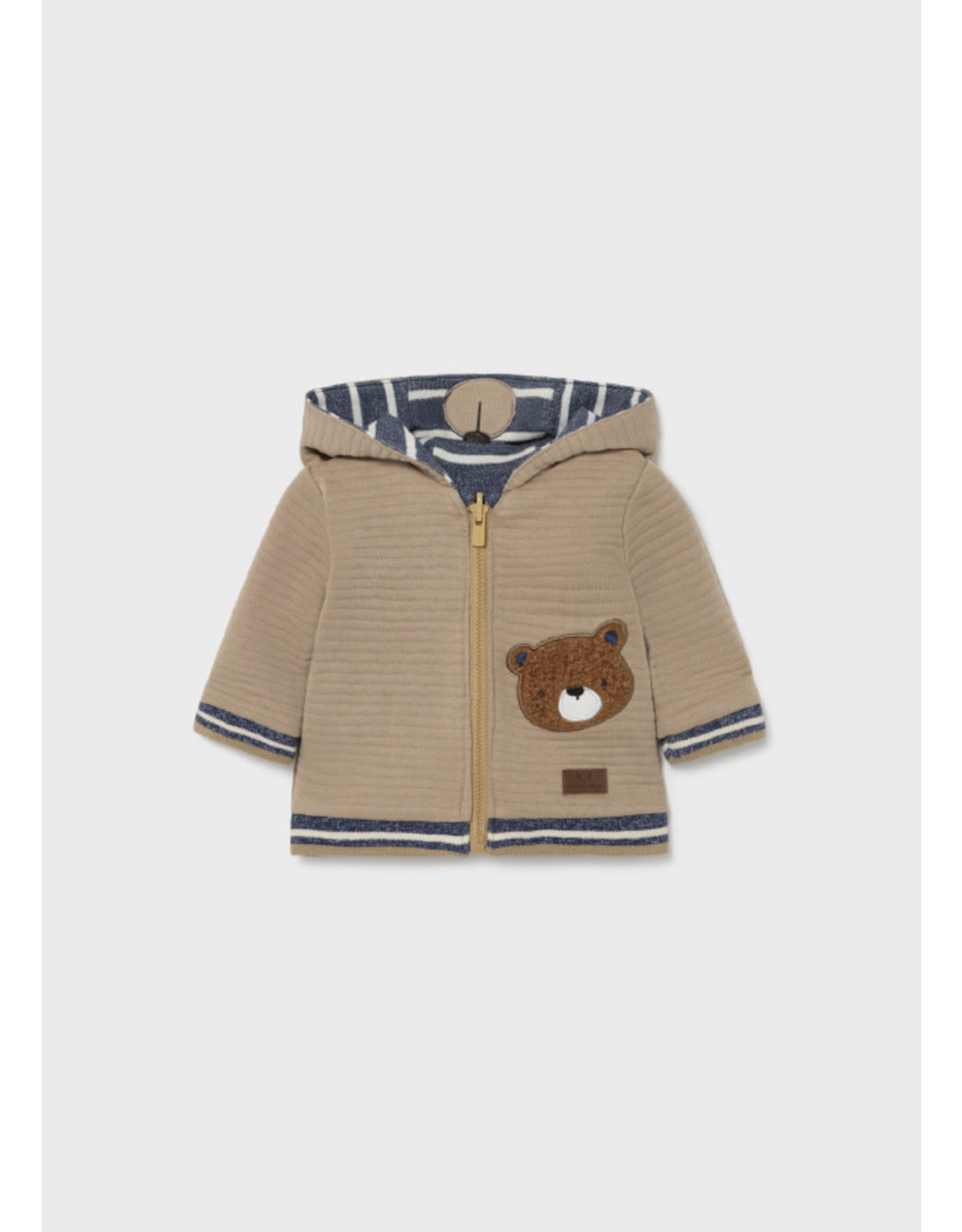 Mayoral Baby Bear Reversible Pullover