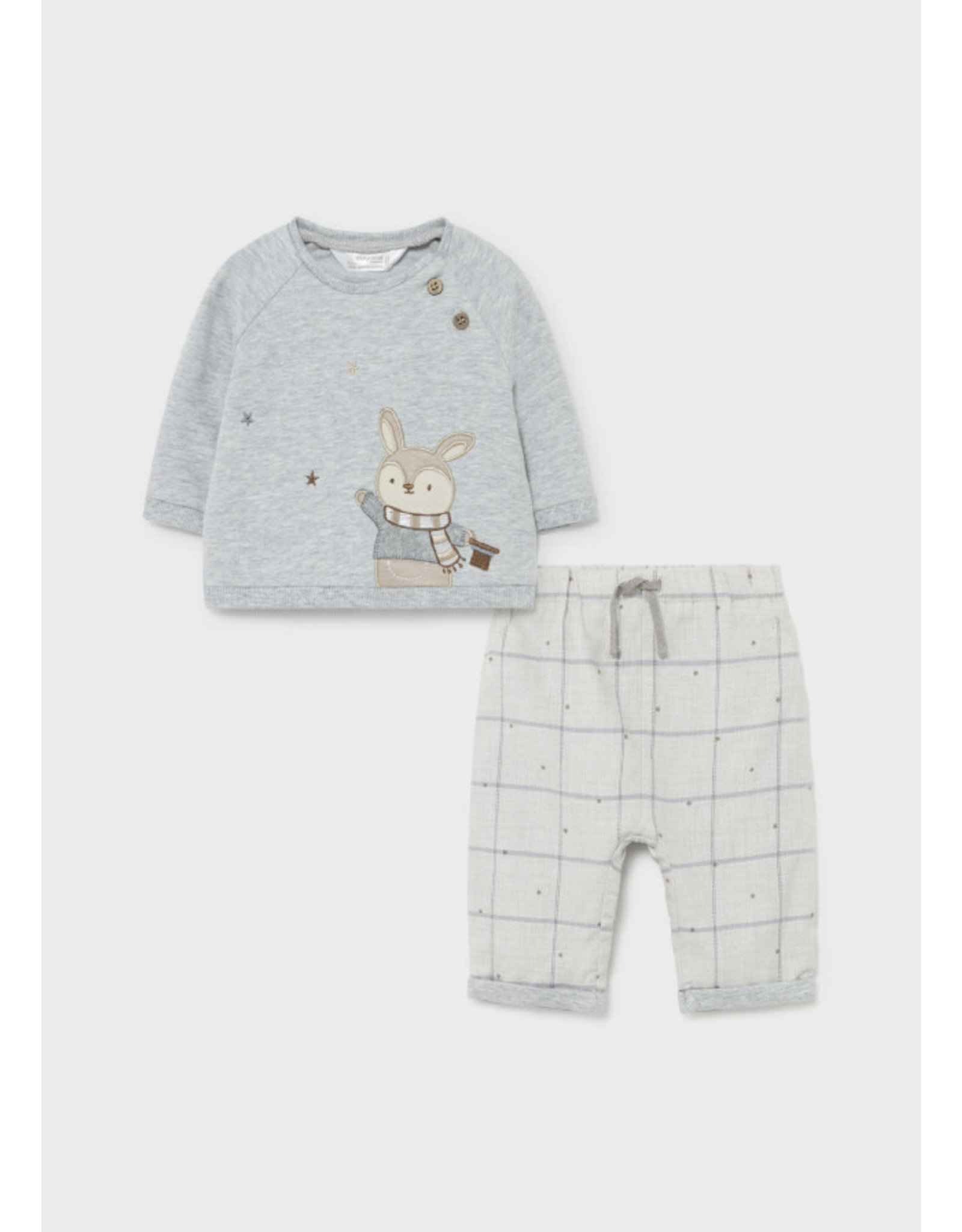 Mayoral Bunny Long Trousers and Pullover