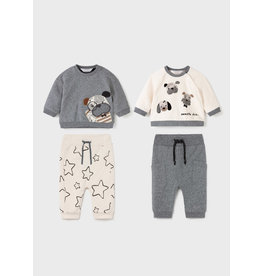 Mayoral Puppy Knit Set  (4 Peices)