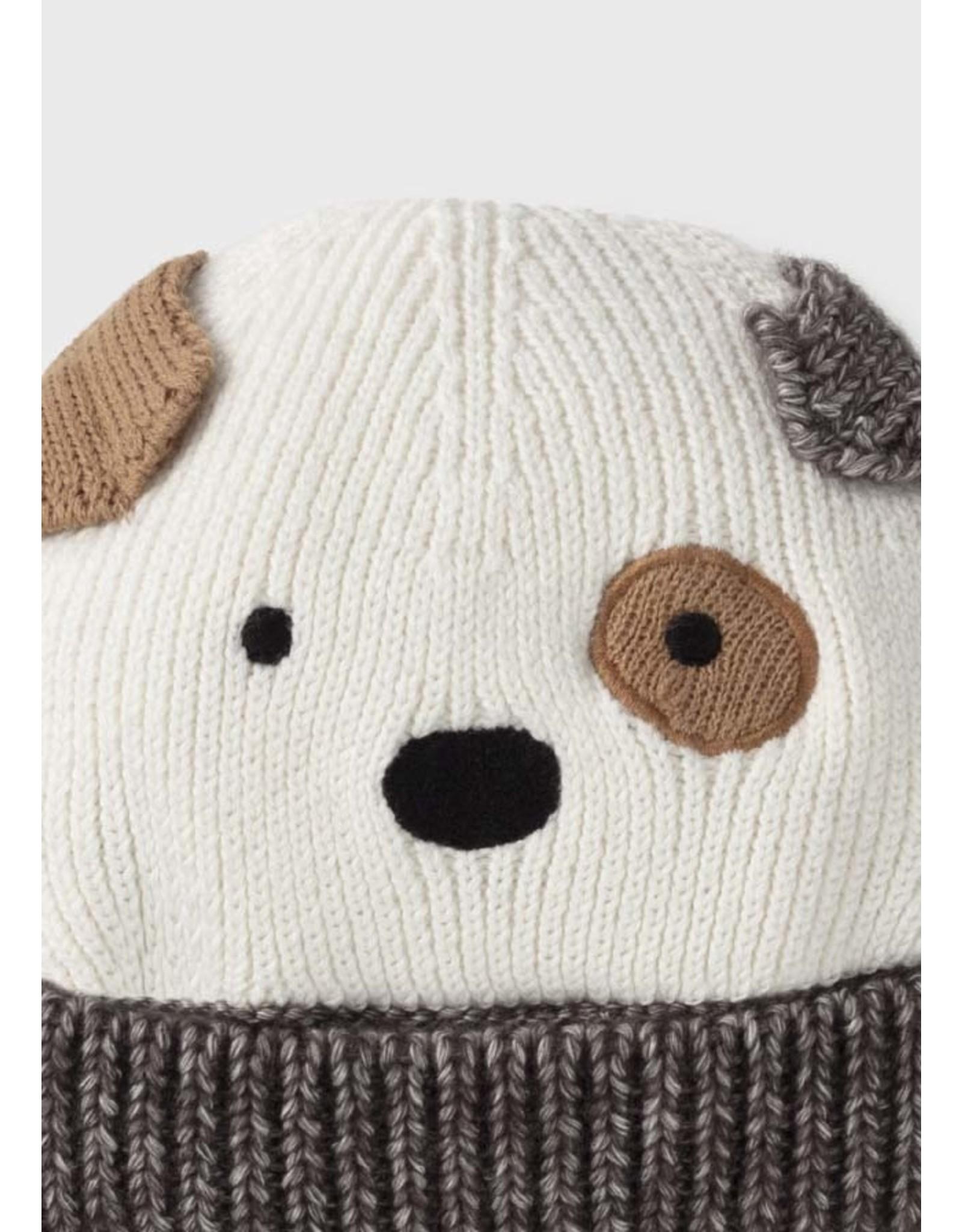 Mayoral Hat/Mittens Set - Puppy