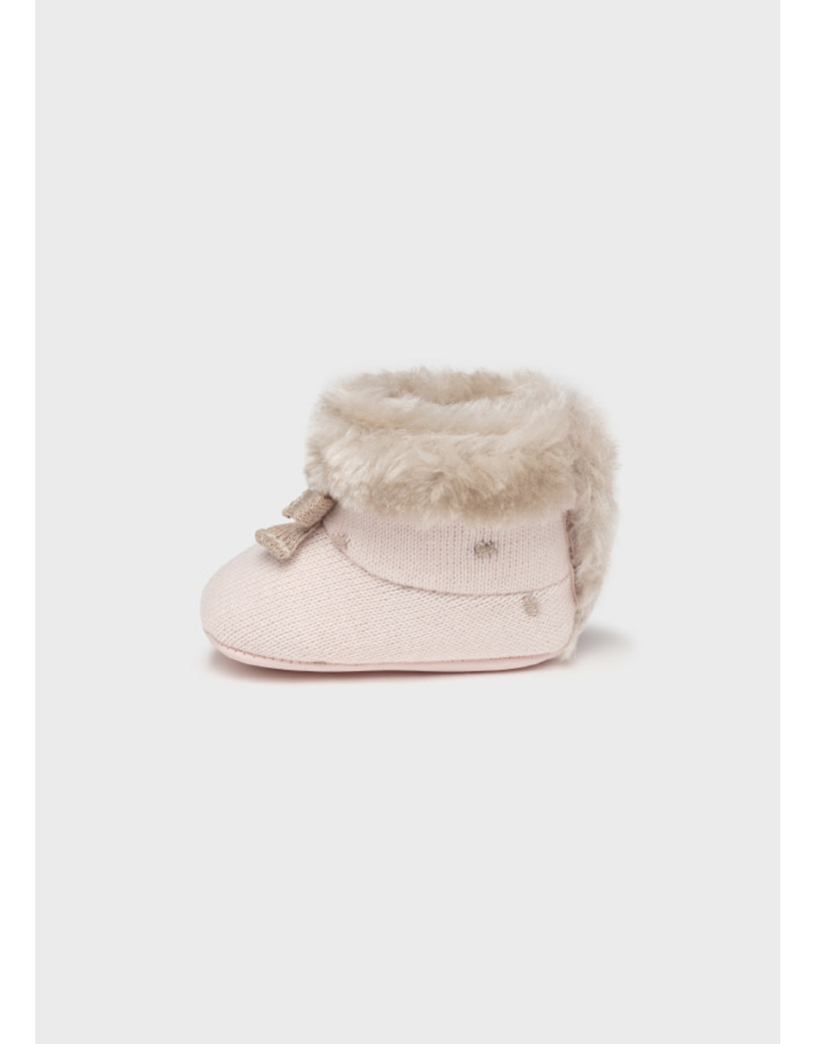 Mayoral Baby Rose Knit Boots