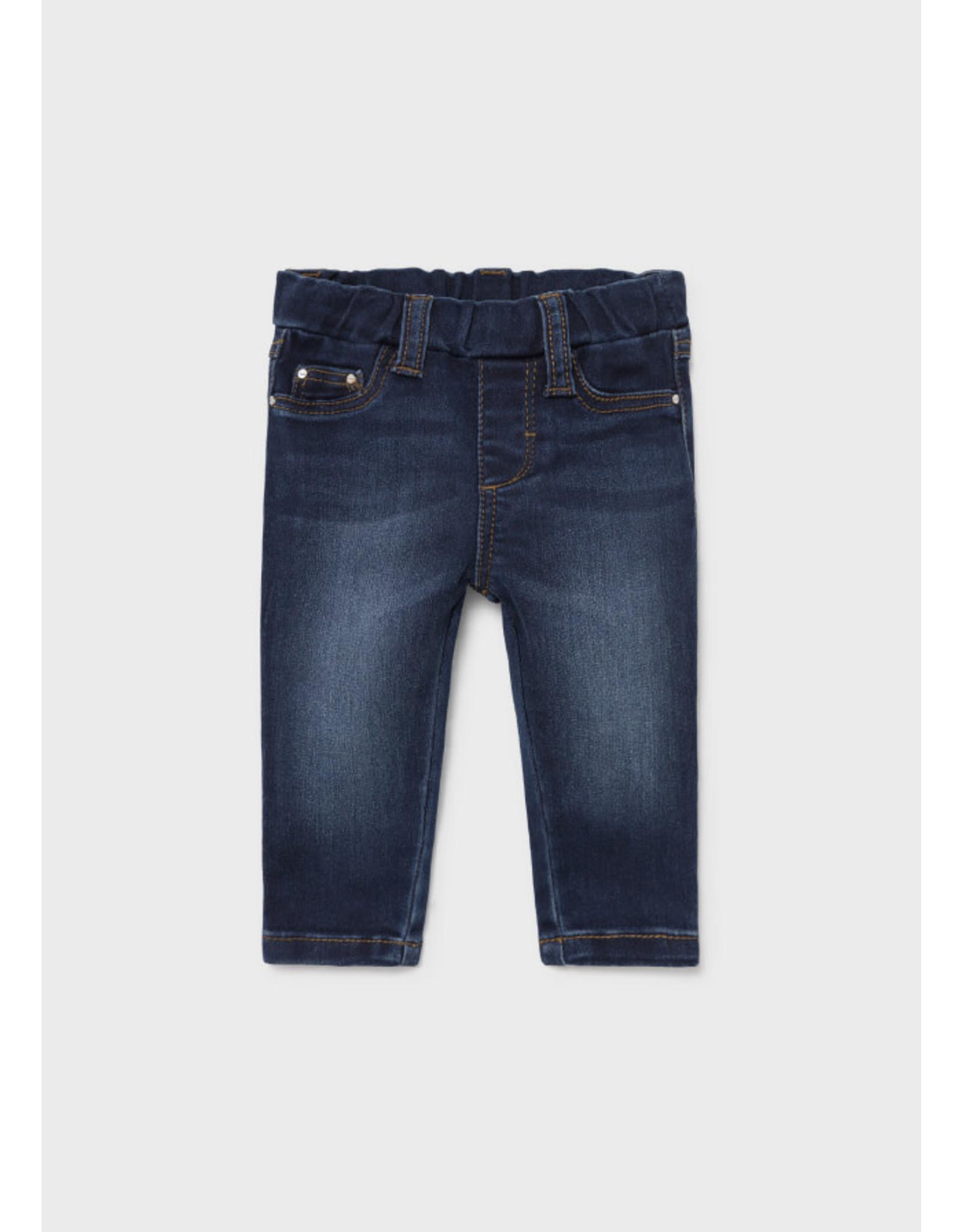 Mayoral Baby Basic Denim Trousers - Dark