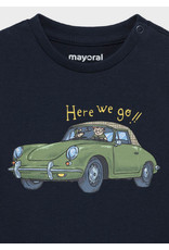 """Mayoral """"Here we go!!"""" Long Sleeve T-Shirt"""