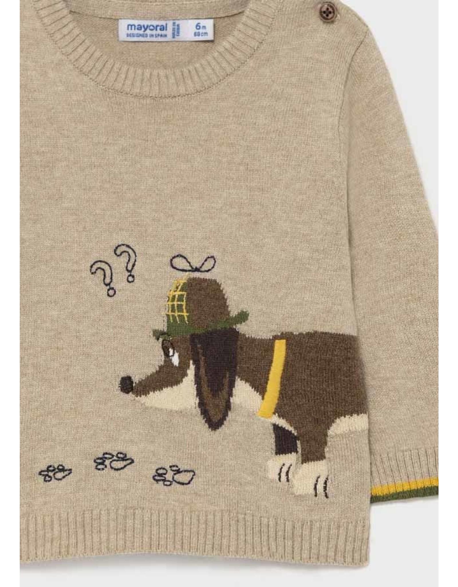 Mayoral Weiner Dog Sweater