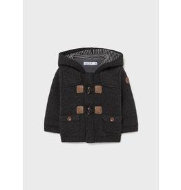 Mayoral Charcoal Cardigan Coat