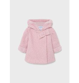 Mayoral Rose Chearling Coat