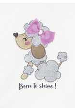 "Mayoral ""Born to Shine"" Shirt/Vest/Legging Set"