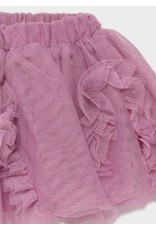 Mayoral Mauve Tulle Skirt