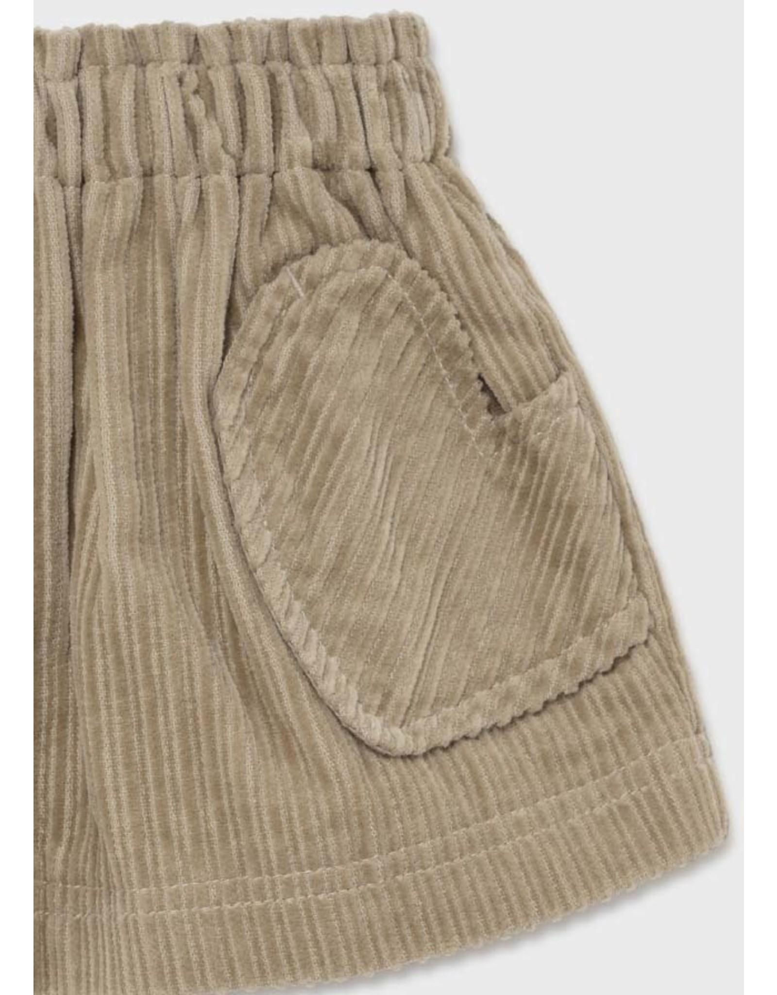 Mayoral Sand Corduroy Skirt