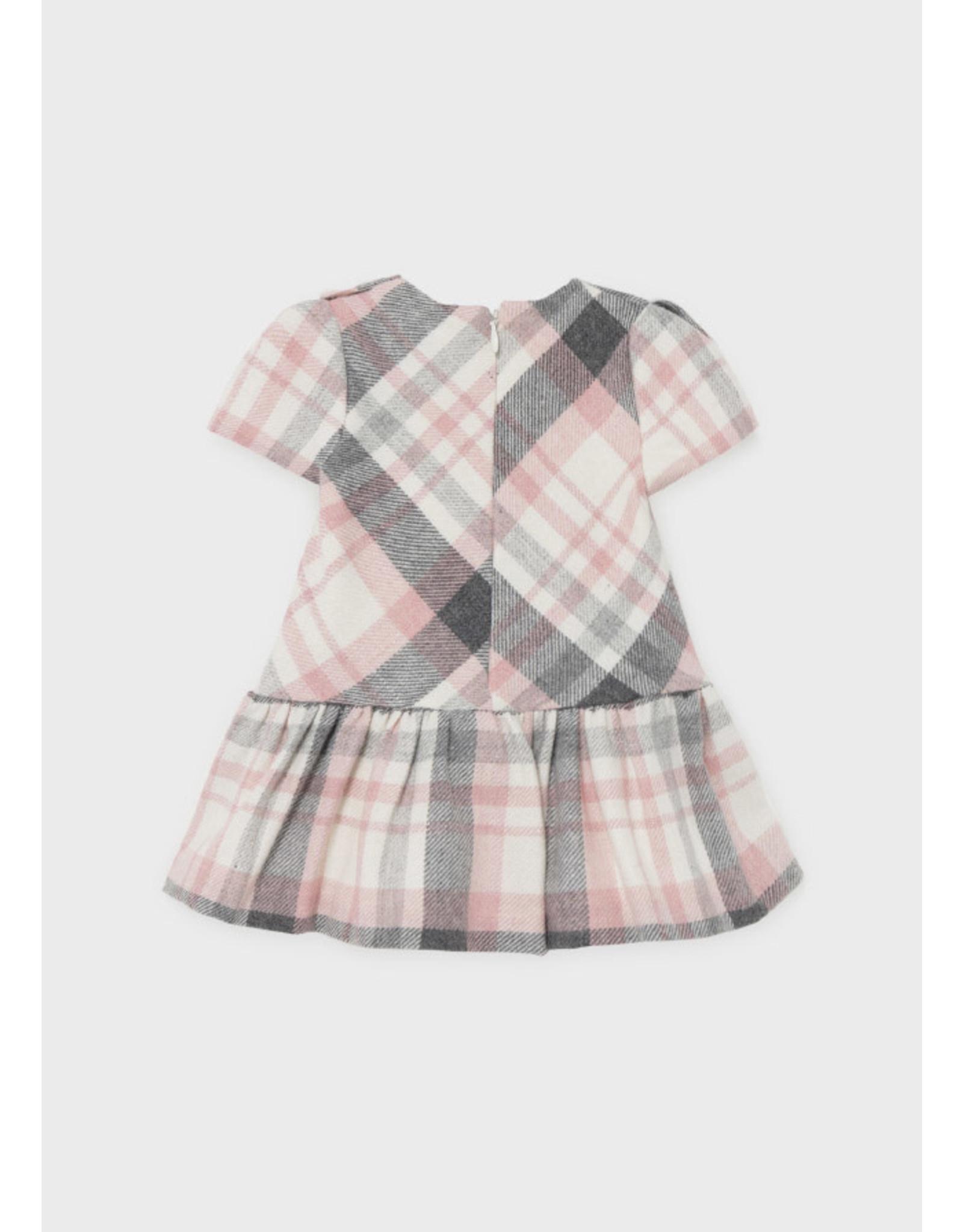 Mayoral Rose Plaid Dress
