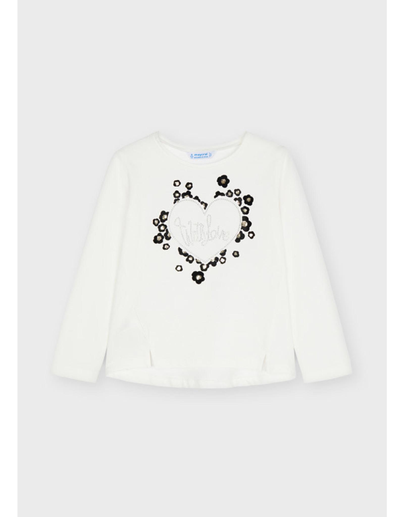 Mayoral Hearts Flock T-Shirt