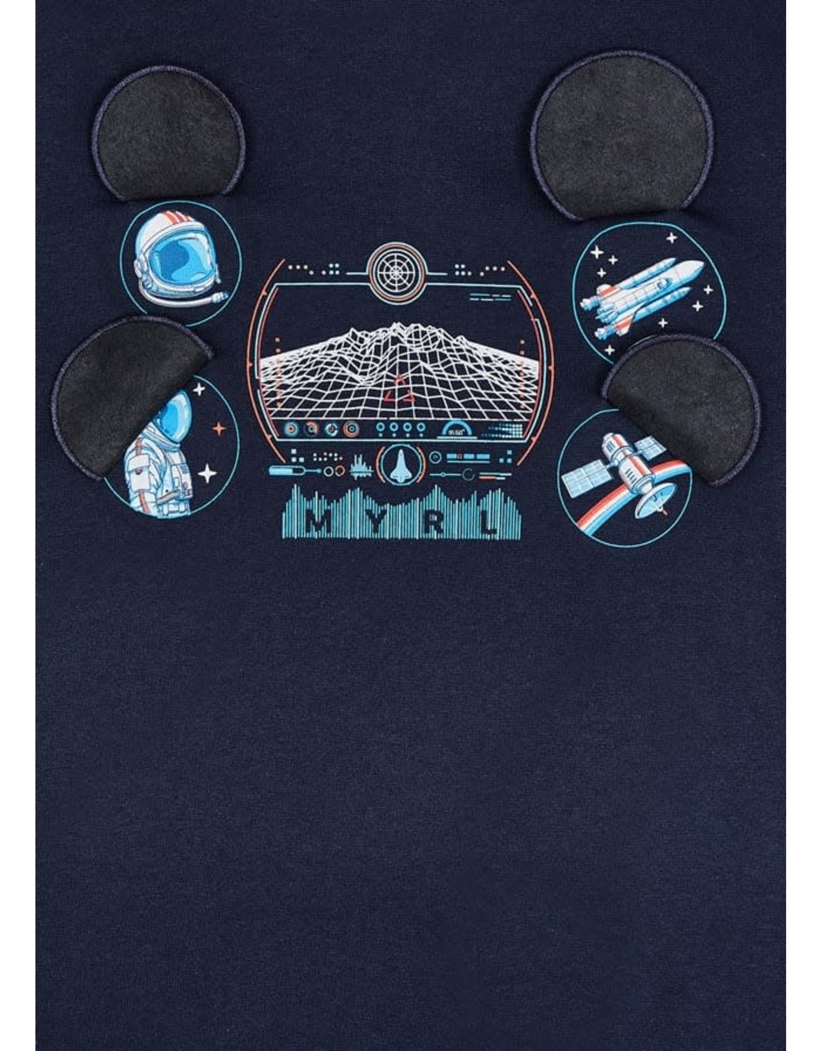 Mayoral Astronaut Patch T-Shirt