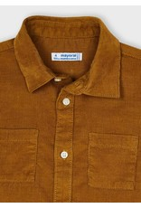 Mayoral Cinammon Mico-cord Shirt