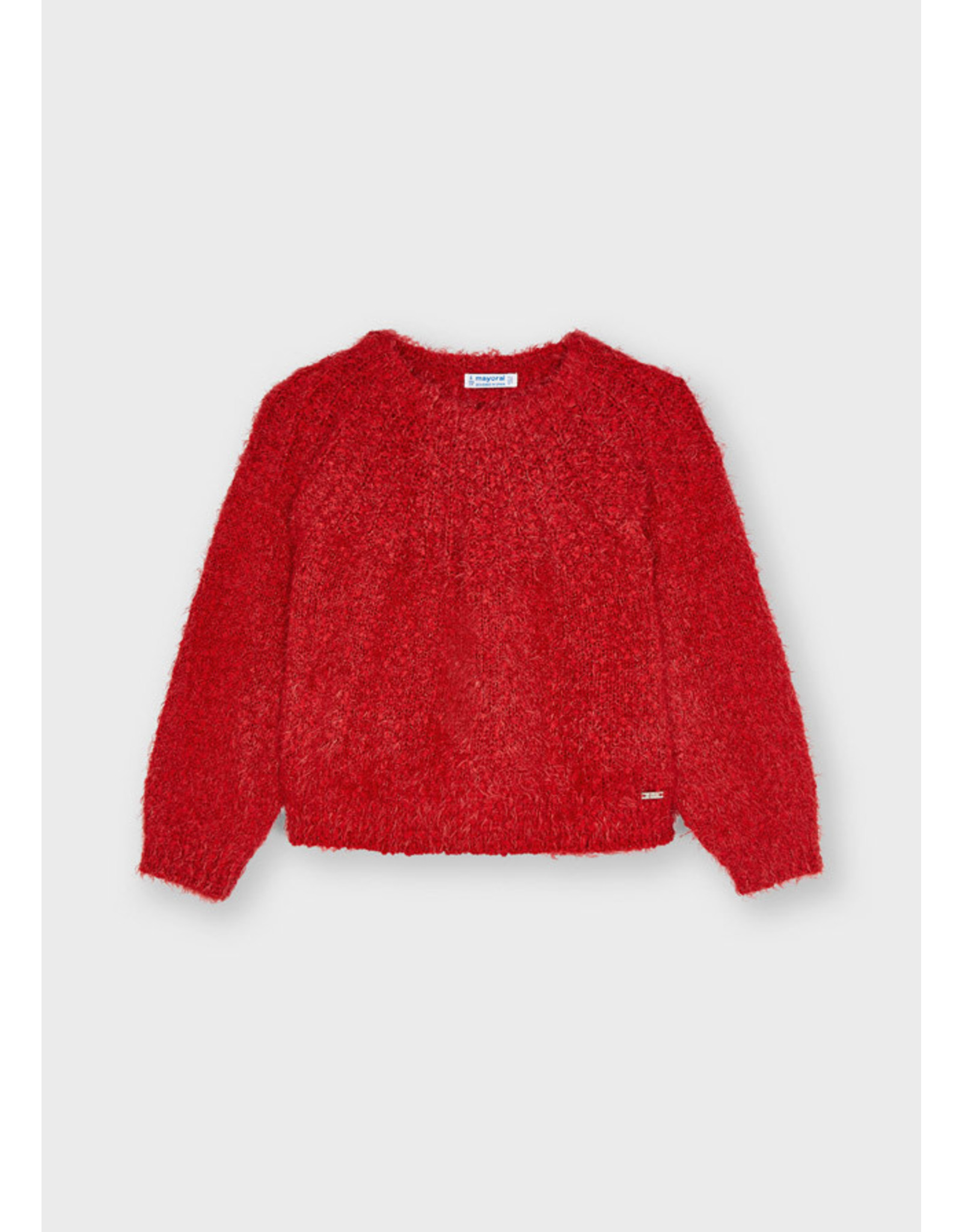 Mayoral Girls Red Sweater