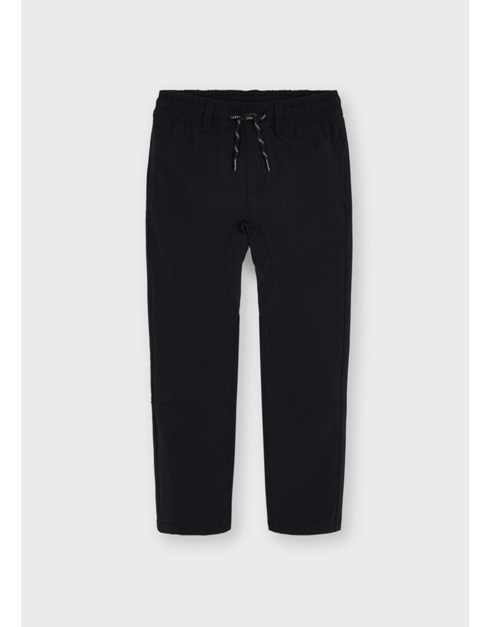 Mayoral Black Elastic Trousers