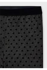 Mayoral Polka Dot Leggings - Black