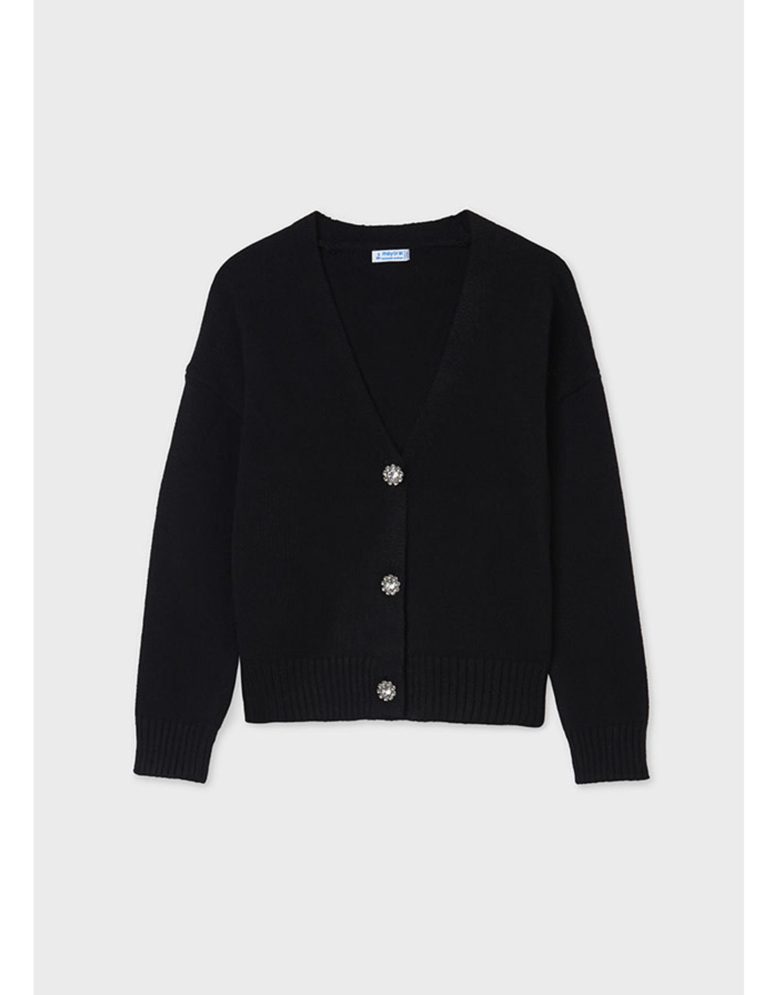 Mayoral Black Knitting cardigan