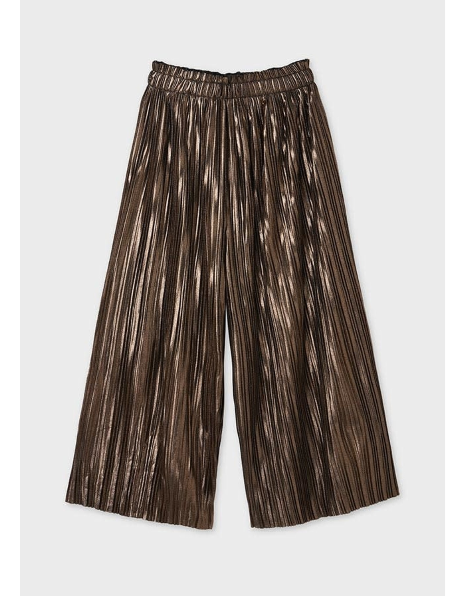 Mayoral Bronze Culotte Pants