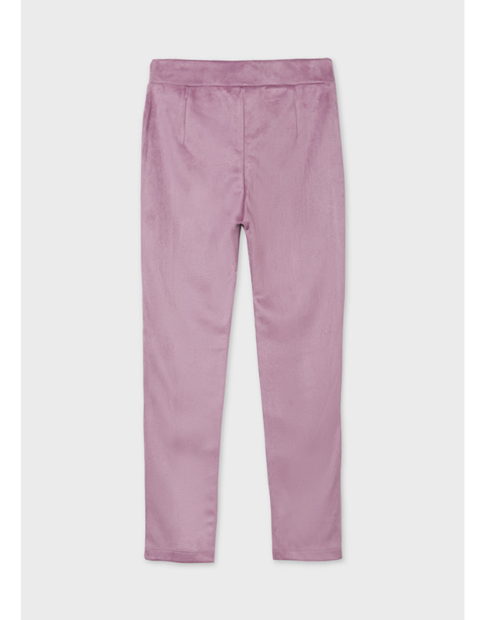 Mayoral Orchid Suede Long Pants