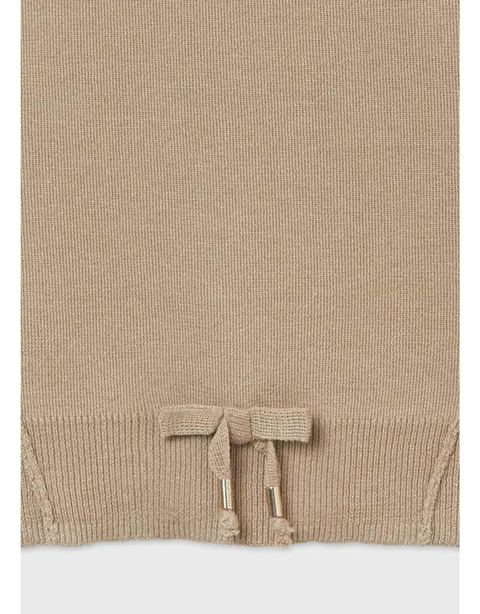 Mayoral Camel Knit Sweater/Trouser Set