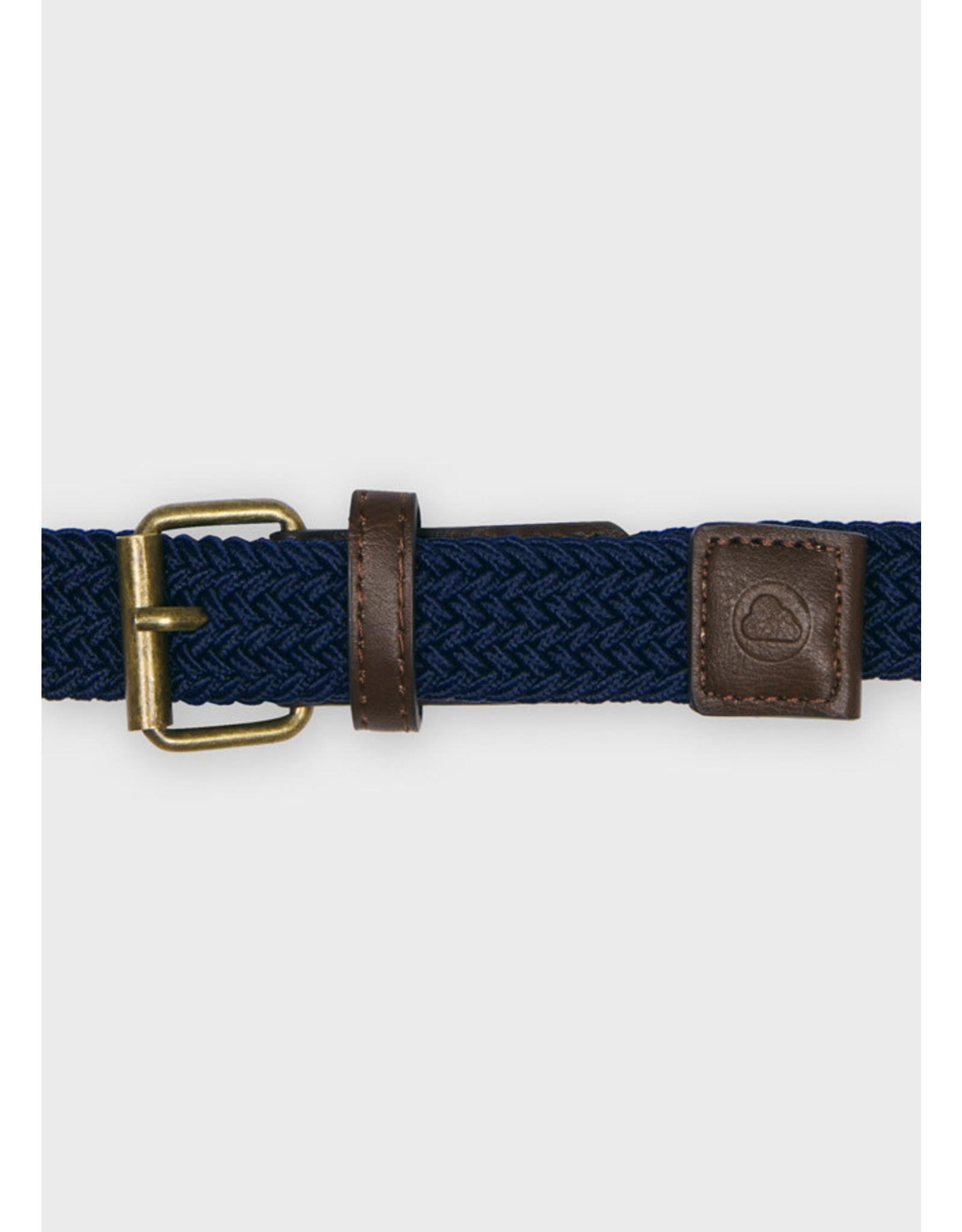 Mayoral Navy Elastic Belt