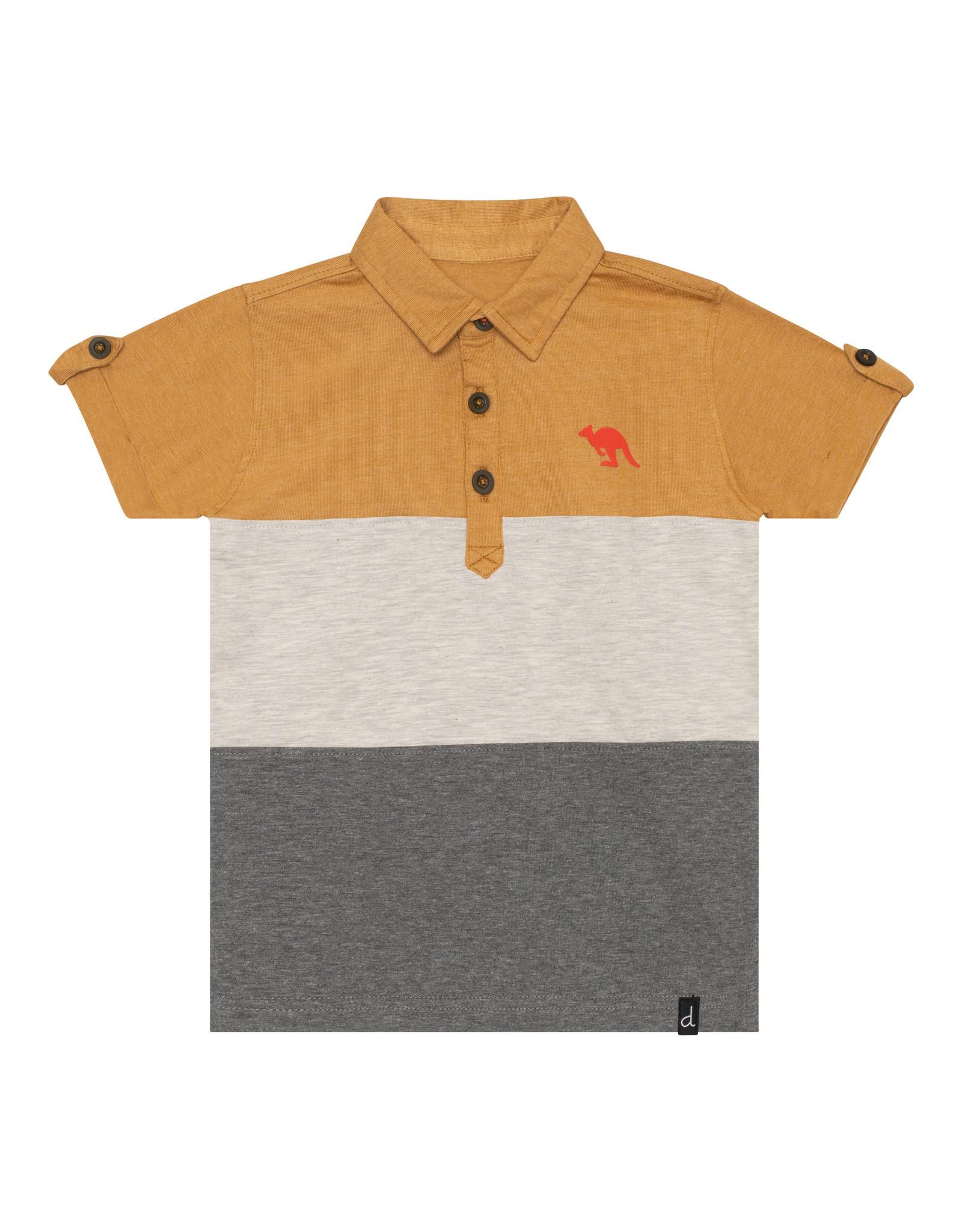 Deux Par Deux Jersey Polo - Inca Gold