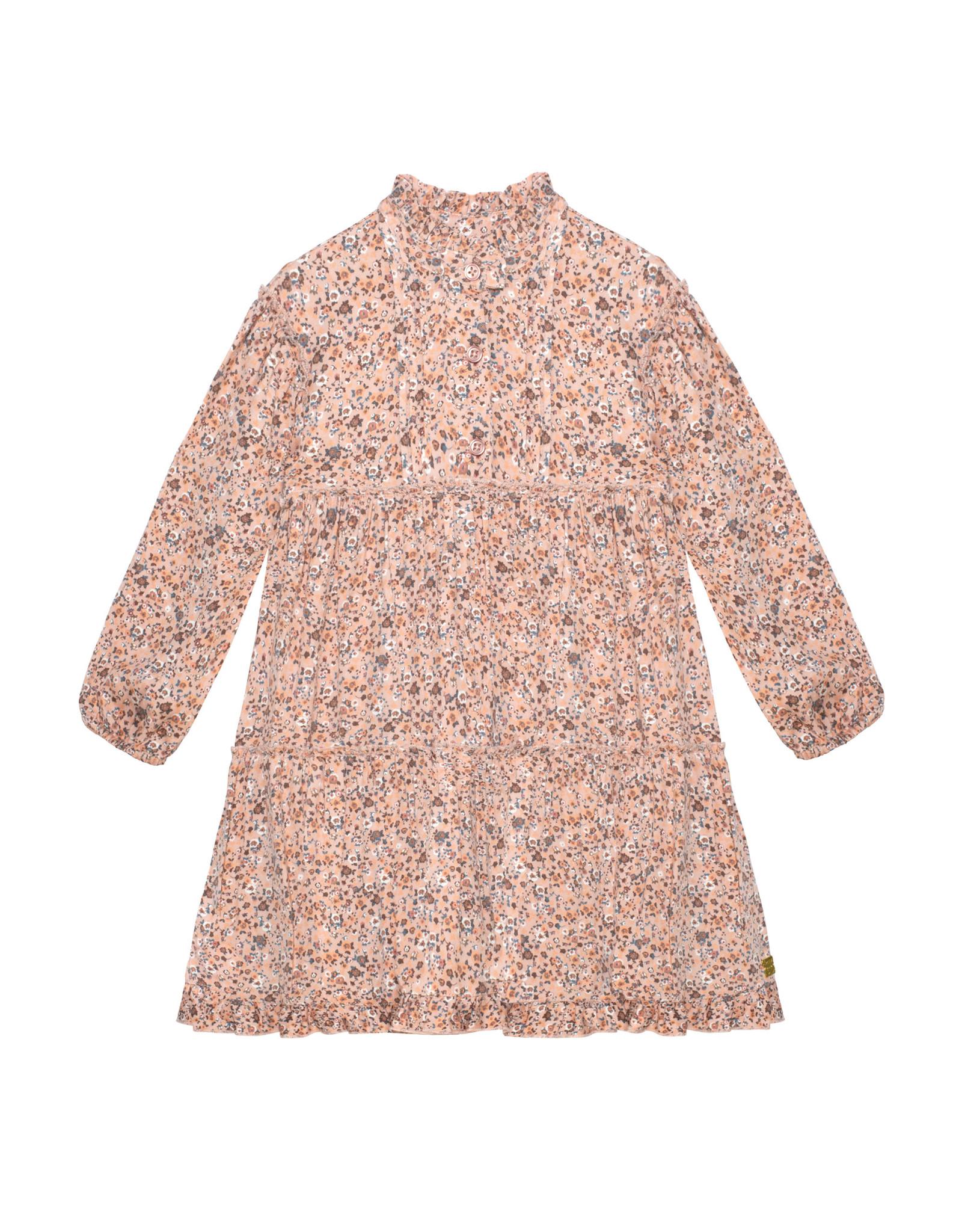 Deux Par Deux Petite Fleurs Printed Dress