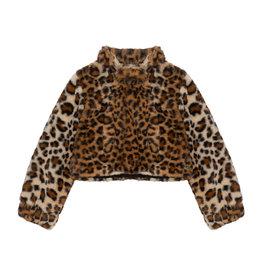 Deux Par Deux Animal Fake Fur Jacket