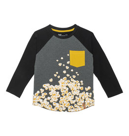 Deux Par Deux Popcorn T-Shirt with Pocket