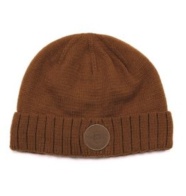 Noruk Taupe Knit Hat